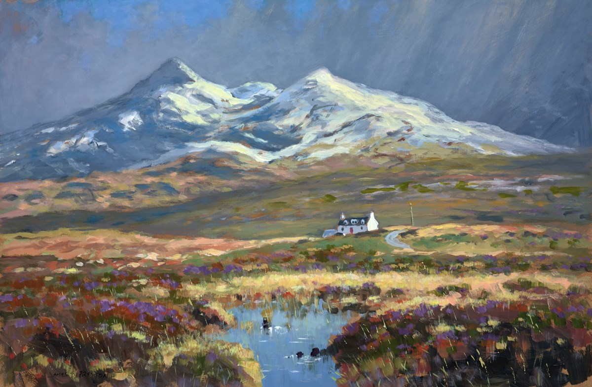 The Isle of Skye by james preston -  sized 28x18 inches. Available from Whitewall Galleries